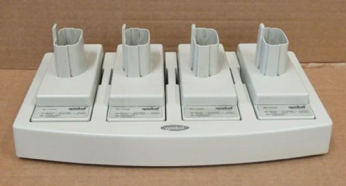 Symbol 20-33569-01R 4-Slot Universal Battery Charger + 4x Adapter 21-32665-48R